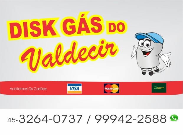 Disk Gas Valdecir